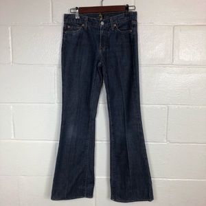 7 For All Mankind Flare Jeans size 26 x 30